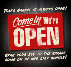 Join Toms Garage