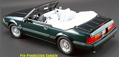 Acme Diecast Product Details 1990 Ford Mustang Lx